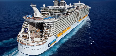 Europa mit der Symphony of the Seas
