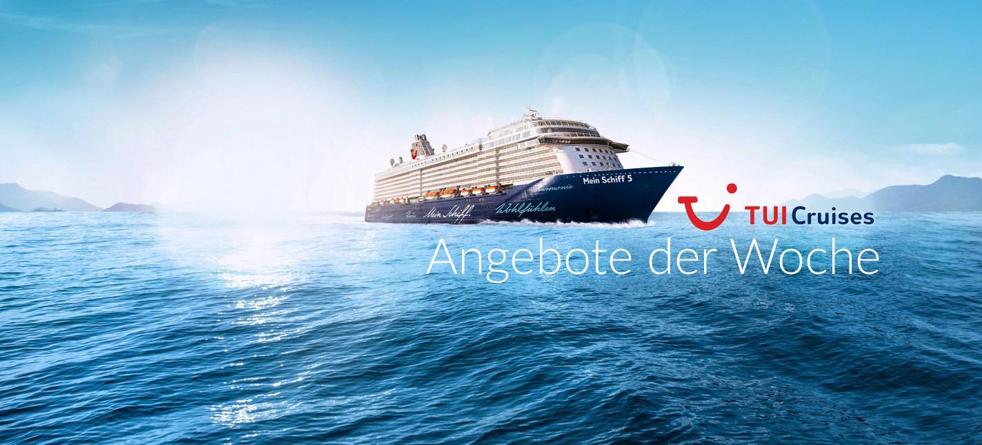 TUI Cruises: Angebote der Woche