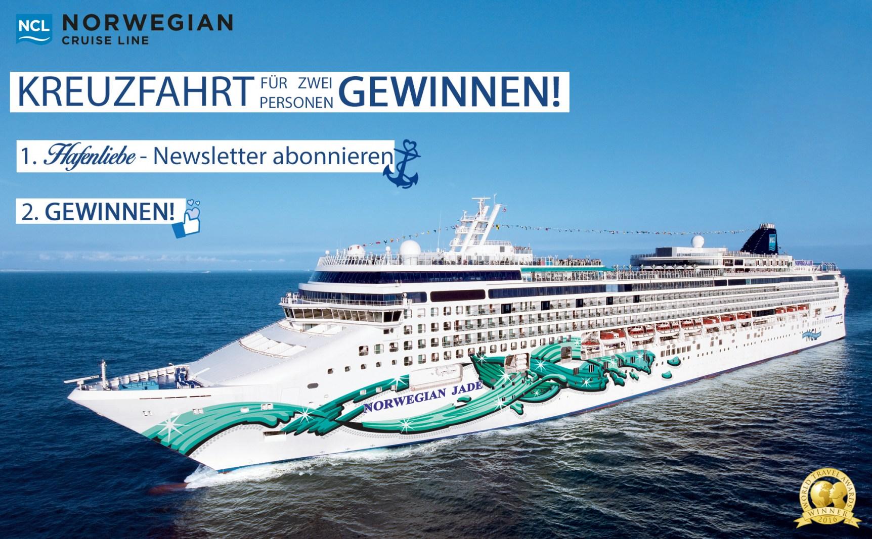 Gewinne eine Kurzreise mit Norwegian Cruise Line